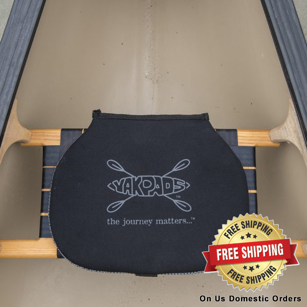Yakpads canoe seat and knee pads.