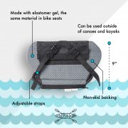 Yakpads® Paddle Saddle With Low Backrest for Touring Kayaks